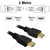 HD4-02 2M HDMI 1.4 / 2.0 High Speed with Ethernet Cable from Dueltek