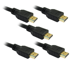 5 Pack of 2M HDMI Cables
