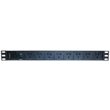 8-Port Horizontal PDU - 15 Amp