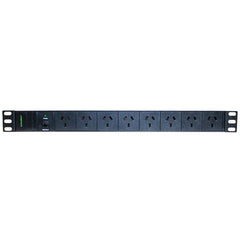 8-Port Horizontal PDU - 10 Amp
