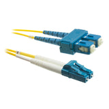 LC-SC OS1 OS2 Duplex Fiber Optic Patch Lead