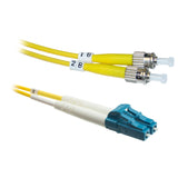 LC-ST OS2 Duplex Fiber Optic Patch Lead