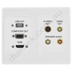 DET Output Panel with HDMI