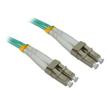 LC OM3 Duplex Fiber Optic Patch Lead