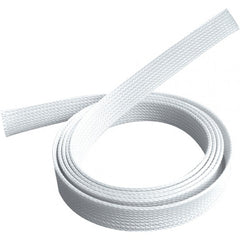 Pivotel Gear 38mm White Braided Sleeving Cable Sock