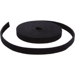 Pivotel Gear Hook & Loop Cable Tie Roll Black 9.5mm