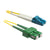 SCA-LC OS2 Duplex Fiber Optic Patch Lead