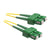 SCA OS2 Duplex Fiber Optic Patch Lead