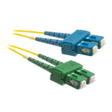 SC-SCA OS2 Duplex Fiber Optic Patch Lead