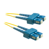 SC OS2 Duplex Fiber Optic Patch Lead