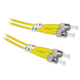 ST OS2 Duplex Fiber Optic Patch Lead