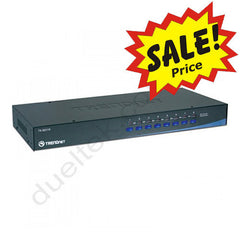 8 Port VGA PS2 Rack Mount KVM Switch