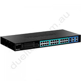 TPE-224WS Websmart PoE Switch Trendnet