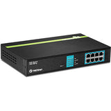 8 Port GREENnet Gigabit PoE+ Switch TPE-TG81g