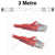 3M Red CAT6 RJ45 Cable UTP6-03-RE-L