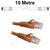 10M Orange CAT6 RJ45 Cable UTP6-10-ORANGE-L