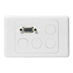 WP-VGA Clipsal Compatible Plate