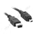 Firewire 400 Lead - 4 Pin to 6 Pin