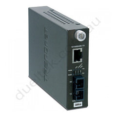 Intelligent 10/100 Dual Wavelength Media converter
