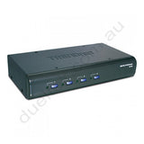 4 Port VGA USB PS2 KVM Switch with Audio TK-423K