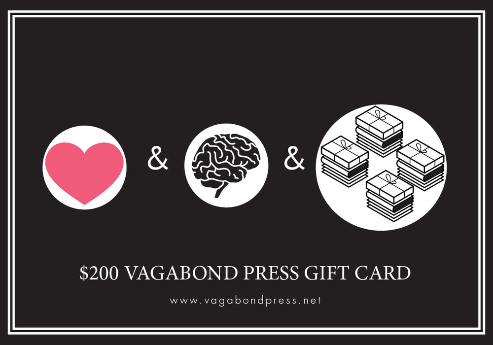 Load image into Gallery viewer, Vagabond Press Gift Cards