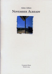 Adam Aitken, November Already