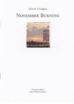 Alison Croggon, November Burning