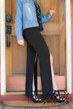 FLY AWAY - Front Slit Pants by Nyla and Noelle