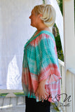 HAVANA - Boho Cut Lace Accented Tie Dye Top by Nyla and Noelle