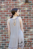 LYRA - Crepe Embroidered Tunic Dress by Nyla and Noelle
