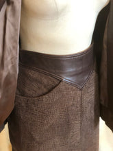 Load image into Gallery viewer, Vintage Maurice's of San Angelo Leather 2 Pc Set