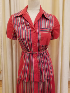 Vintage Albert Nipon 2pc skirt set