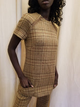 Load image into Gallery viewer, Vintage 1960s Tunic Pantsuit 2 pc