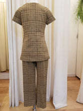 Load image into Gallery viewer, Vintage 1960s Tunic Pantsuit