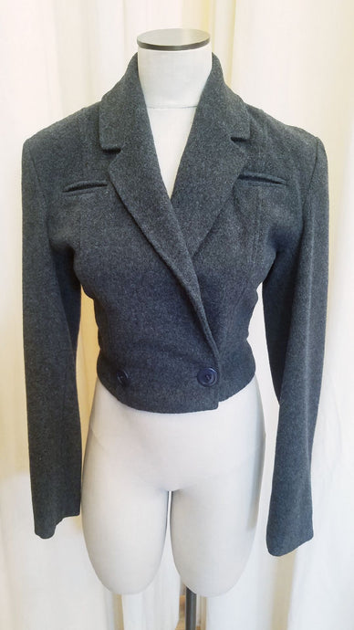 Patrick Kelly grey wool blazer