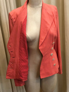Vintage Braefair Double Breasted Blazer
