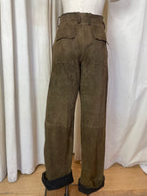 Load image into Gallery viewer, 1990's Dolce and Gabbana Wool and Suede Fisherman Pants