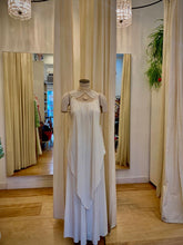 Load image into Gallery viewer, Ivory  vintage handkerchief dress