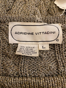 Adrienne Vittadini Cable Sweater