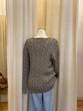 Load image into Gallery viewer, Adrienne Vittadini Cable Sweater