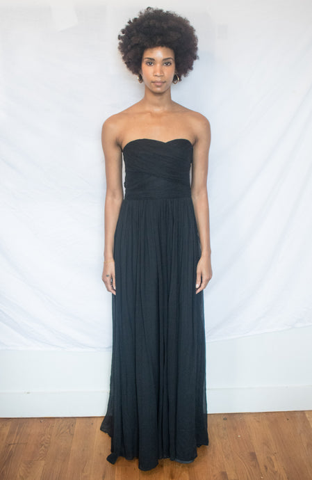 J. Crew Strapless Gown