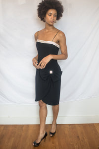 Julie Doroché Oversized Bow Dress