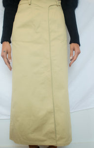 Mugler Chino Trouser Skirt