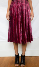 Load image into Gallery viewer, Nelly De Grab velvet skirt