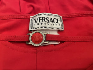 1990's Versace Intensive Spandex Medusa Head Two Piece