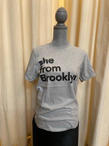 She From Brooklyn T-shirt