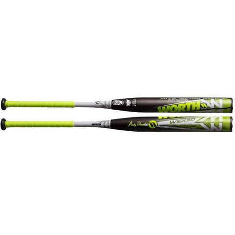 Bâton Slowpitch Worth Wicked Purcell 26 Oz