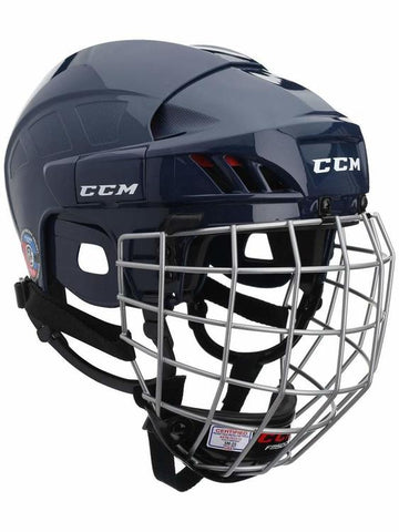 Casque Hockey CCM HT50 Combo Navy X-Small