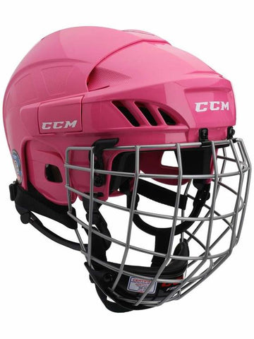 Casque Hockey CCM HT50 Combo Rose Large
