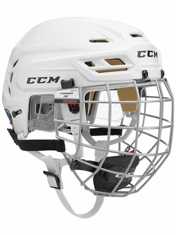 Casque Hockey CCM Tacks 110 Combo Blanc Medium
